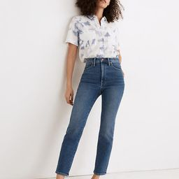 The Perfect Vintage Jean in Maplewood Wash   Madewell