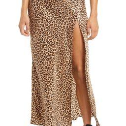 Side Slit Long Skirt   Nordstrom