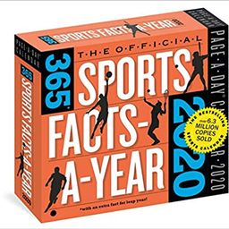 The Official 365 Sports Facts-A-Year Page-A-Day Calendar 2020    Calendar – Desk Calendar, July... | Amazon (US)