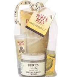 Burt's Bees Hand Repair Gift Set, 3 Hand Creams plus Gloves Almond Milk Hand Cream, Lemon Butter ... | Amazon (US)