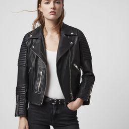 Estella Leather Biker Jacket   All Saints US