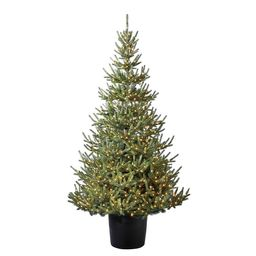 Holiday Living 7-ft Pre-Lit Traditional Artificial Christmas Tree with 900 Constant Warm White LE...   Lowe's