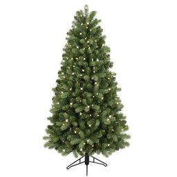 GE 5-ft Colorado Spruce Pre-Lit Traditional Artificial Christmas Tree with 200 Multi-Function Col...   Lowe's
