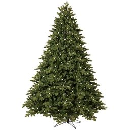 GE 7.5-ft Norway Spruce Pre-Lit Traditional Artificial Christmas Tree with 800 Multi-Function Col...   Lowe's