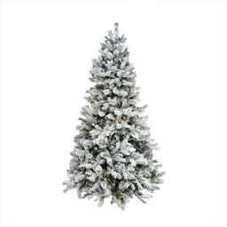 Northlight 9-ft Pine Pre-Lit Traditional Flocked Artificial Christmas Tree with 700 Color Changin...   Lowe's
