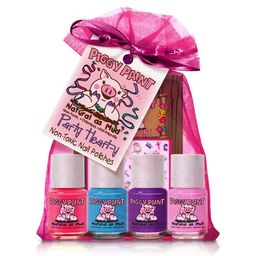 Piggy Paint Girls Nail Polish, 100% Non-toxic Safe, Chemical Free Low Odor for Kids, Party Hearty...   Walmart (US)
