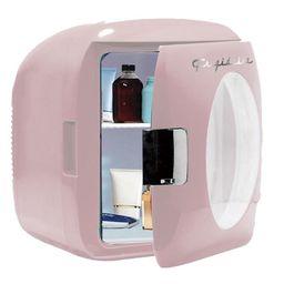 Frigidaire Portable Retro 12-Can Mini Fridge EFMIS462, Pink | Walmart (US)