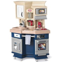 Little Tikes Super Chef Play Kitchen with 13 Piece Accessory Play Set | Walmart (US)