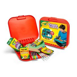 Crayola Create and Carry Art Set, Gift for Kids, 75 Pieces Ages 5+ Child | Walmart (US)