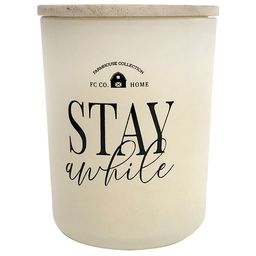 Holiday Stay Awhile 2-Wick Candle with Wooden Lid, Long Burning, Clean & Fragrant, Sugar Cookie S... | Walmart (US)