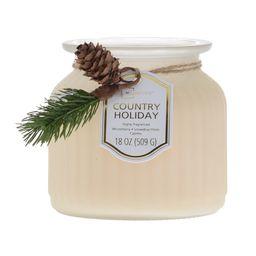 Mainstays Country Holiday Ribbed Pagoda Jar, 18 oz. | Walmart (US)