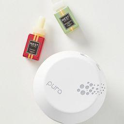 Pura x Nest Fragrances Smart Home Festive Diffuser Set | Anthropologie (US)