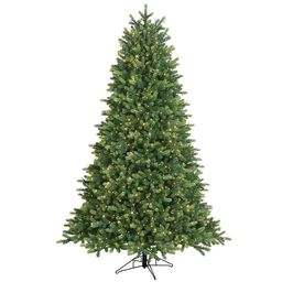 GE 7.5-ft Blue Ridge Spruce Pre-Lit Traditional Artificial Christmas Tree with 1500 Multi-Functio...   Lowe's