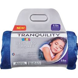 Tranquility Kid's Weighted Blanket, 6Lbs With Washable Cover, Blue | Walmart (US)