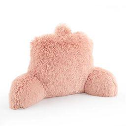 Mainstays Long Hair Faux Fur Backrest Pillow, Blush   Walmart (US)