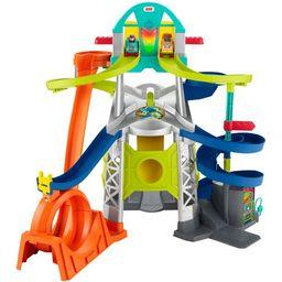 Fisher-Price Little People Launch & Loop Raceway Vehicle Playset | Walmart (US)