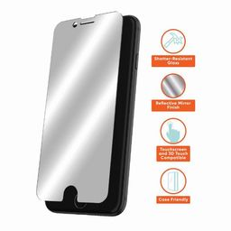 onn. Mirror Glass Screen Protector for iPhone 6, iPhone 6s, iPhone 7, iPhone 8, iPhone SE (2020)   Walmart (US)