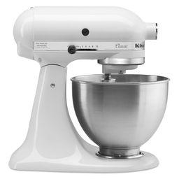 KitchenAid Classic Series 4.5 Quart Tilt-Head White Stand Mixer | Walmart (US)