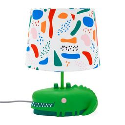 Abstract Shapes Shade with Alligator Lamp Base by Drew Barrymore Flower Kids | Walmart (US)