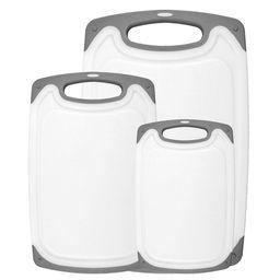 Freshware Plastic Cutting Boards For Kitchen (3-Piece) | Walmart (US)
