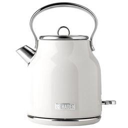 Haden Heritage 1.7 Liter Stainless Steel Electric Tea Kettle Ivory- 75012 | Walmart (US)