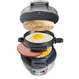 Hamilton Beach Breakfast Sandwich Maker, Silver | Walmart (US)
