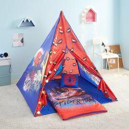 Marvel Spider Man 4 Piece Kids Slumber Teepee Tent Set | Walmart (US)
