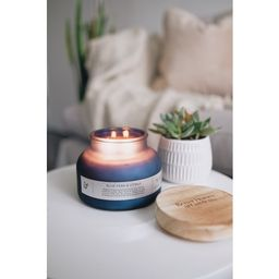Better Homes & Gardens Blue Fern & Citrus 18oz Scented 2 wick Candle | Walmart (US)