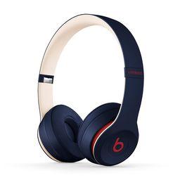 Beats Solo3 Wireless On-Ear Headphones - Beats Club Collection - Club Navy | Walmart (US)