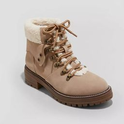 Women's Cam Hiking Ankle Boots - Universal Thread™   Target