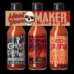 Meet your Maker 3 hot sauce gift set   Walmart (US)