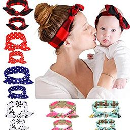 Mommy and Me Headband Set is Matching Headbands for Mother & Daughter, Baby Girl and Mom Headband... | Amazon (US)