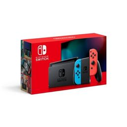 Nintendo Switch with Neon Blue and Neon Red Joy-Con   Target