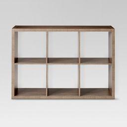 "6 Cube Organizer Shelf 13"" - Threshold™   Target"