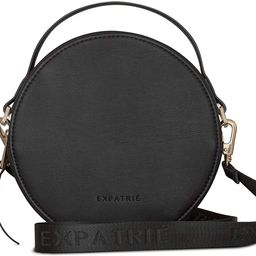 "Round Bag Black Small Women - Expatrié""Celine"" Crossbody Fashion Trendy Handbag | Amazon (US)"