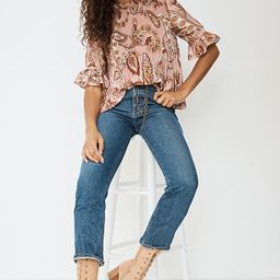AGOLDE Pinch-Waist Ultra High-Rise Slim Flare Jeans   Anthropologie (US)