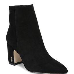 Women's Hilty Pointed Toe Block High-Heel Ankle Booties | Bloomingdale's (US)