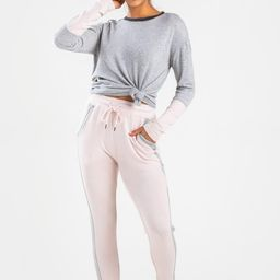 Bree Side Stripe Joggers | Francesca's Collections