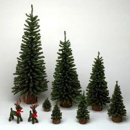 "Vickerman 24"" Mini Pine Artificial Christmas Tree, Unlit | Walmart (US)"