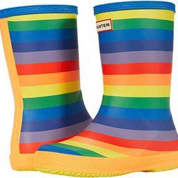Original First Classic Rainbow Print Wellington Boots (Toddler/Little Kid) | Zappos