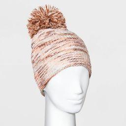 Women's Spacedye Pom Beanie - Universal Thread™ One Size | Target