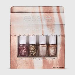 essie Core Exclusive Mini Nail Polish Gift Set - 4pc | Target