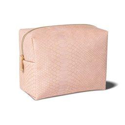 Sonia Kashuk™ Loaf Bag - Pink Faux Snake | Target