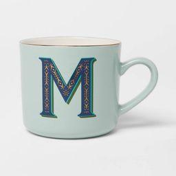 16oz Stoneware Monogram Mug M - Opalhouse™ | Target