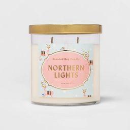 15.1oz Lidded Glass Jar 2-Wick Candle Northern Lights - Opalhouse™ | Target