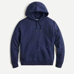 Garment-dyed french terry hoodie | J.Crew US