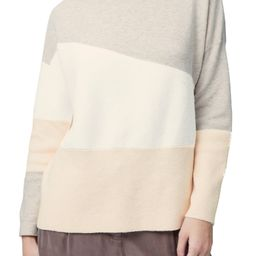 French Connection Sophia Funnel Neck Colorblock Sweater | Nordstrom | Nordstrom
