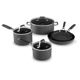 Select by Calphalon 8pc Hard-Anodized Non-Stick Cookware Set   Target