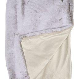 "Snuggle Faux Fur Throw - 60"" x 50""   Nordstrom Rack"