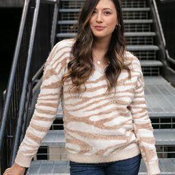 (**new item**) Safari Sweater | Grace and Lace